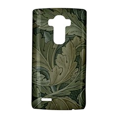 Vintage Background Green Leaves Lg G4 Hardshell Case