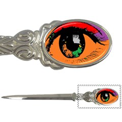 Eyes Makeup Human Drawing Color Letter Openers