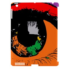 Eyes Makeup Human Drawing Color Apple Ipad 3/4 Hardshell Case (compatible With Smart Cover)