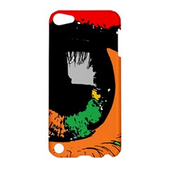 Eyes Makeup Human Drawing Color Apple Ipod Touch 5 Hardshell Case
