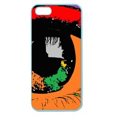 Eyes Makeup Human Drawing Color Apple Seamless Iphone 5 Case (color)