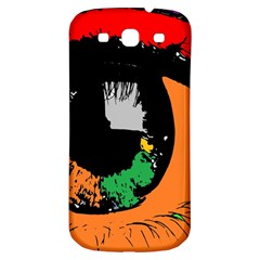 Eyes Makeup Human Drawing Color Samsung Galaxy S3 S Iii Classic Hardshell Back Case