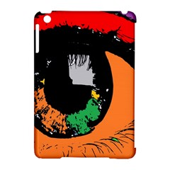 Eyes Makeup Human Drawing Color Apple Ipad Mini Hardshell Case (compatible With Smart Cover)