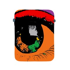 Eyes Makeup Human Drawing Color Apple Ipad 2/3/4 Protective Soft Cases