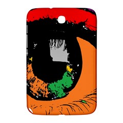 Eyes Makeup Human Drawing Color Samsung Galaxy Note 8 0 N5100 Hardshell Case