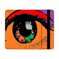 Eyes Makeup Human Drawing Color Samsung Galaxy Tab Pro 8 4  Flip Case