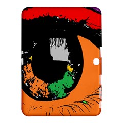 Eyes Makeup Human Drawing Color Samsung Galaxy Tab 4 (10 1 ) Hardshell Case