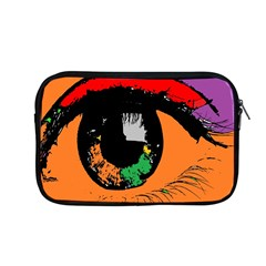 Eyes Makeup Human Drawing Color Apple Macbook Pro 13  Zipper Case