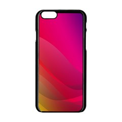 Background Wallpaper Design Texture Apple Iphone 6/6s Black Enamel Case