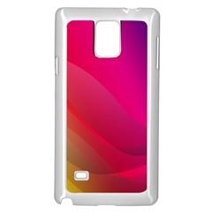 Background Wallpaper Design Texture Samsung Galaxy Note 4 Case (white)