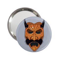 Mask India South Culture 2 25  Handbag Mirrors