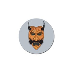 Mask India South Culture Golf Ball Marker (10 Pack)
