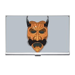 Mask India South Culture Business Card Holders