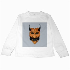 Mask India South Culture Kids Long Sleeve T Shirts