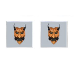 Mask India South Culture Cufflinks (square)