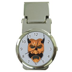 Mask India South Culture Money Clip Watches