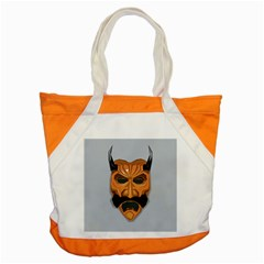 Mask India South Culture Accent Tote Bag