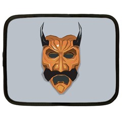 Mask India South Culture Netbook Case (large)