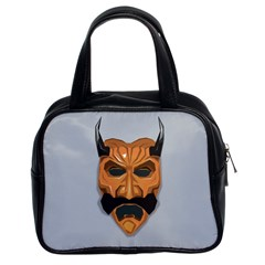 Mask India South Culture Classic Handbags (2 Sides)