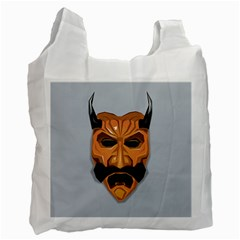 Mask India South Culture Recycle Bag (one Side)