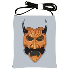 Mask India South Culture Shoulder Sling Bags
