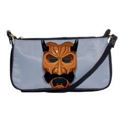 Mask India South Culture Shoulder Clutch Bags