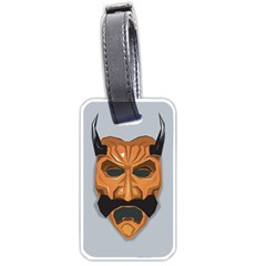 Mask India South Culture Luggage Tags (two Sides)
