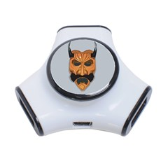 Mask India South Culture 3 Port Usb Hub