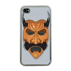 Mask India South Culture Apple Iphone 4 Case (clear)