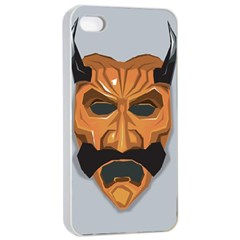 Mask India South Culture Apple Iphone 4/4s Seamless Case (white)