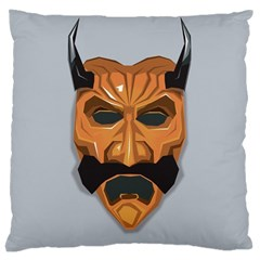 Mask India South Culture Large Cushion Case (one Side)