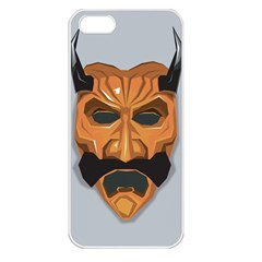Mask India South Culture Apple Iphone 5 Seamless Case (white)