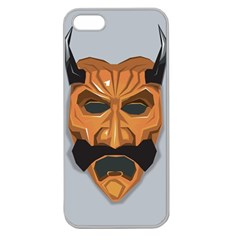 Mask India South Culture Apple Seamless Iphone 5 Case (clear)
