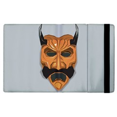 Mask India South Culture Apple Ipad 3/4 Flip Case