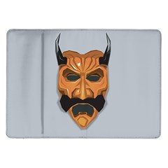 Mask India South Culture Samsung Galaxy Tab 10 1  P7500 Flip Case