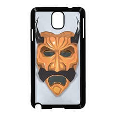 Mask India South Culture Samsung Galaxy Note 3 Neo Hardshell Case (black)