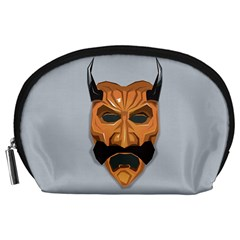 Mask India South Culture Accessory Pouches (large)