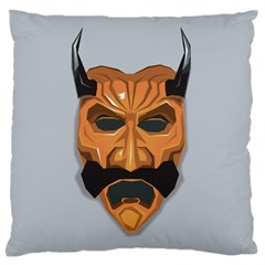 Mask India South Culture Large Flano Cushion Case (one Side)