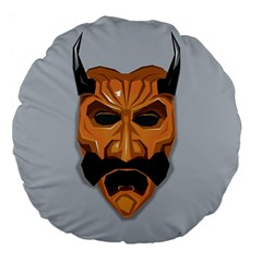 Mask India South Culture Large 18  Premium Flano Round Cushions