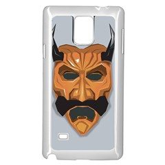 Mask India South Culture Samsung Galaxy Note 4 Case (white)
