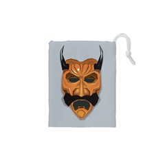 Mask India South Culture Drawstring Pouches (xs)