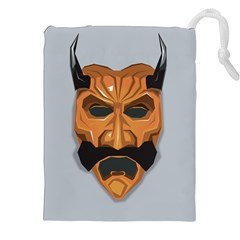 Mask India South Culture Drawstring Pouches (xxl)