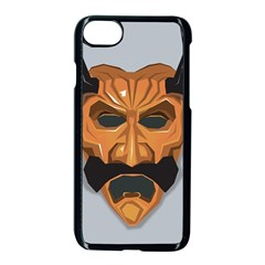 Mask India South Culture Apple Iphone 7 Seamless Case (black)
