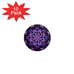 Mandala Circular Pattern 1  Mini Magnet (10 Pack)