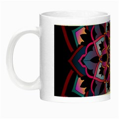 Mandala Circular Pattern Night Luminous Mugs