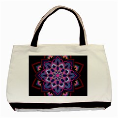Mandala Circular Pattern Basic Tote Bag