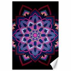 Mandala Circular Pattern Canvas 20  X 30