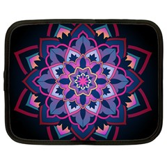 Mandala Circular Pattern Netbook Case (large)