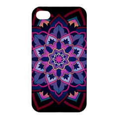 Mandala Circular Pattern Apple Iphone 4/4s Premium Hardshell Case