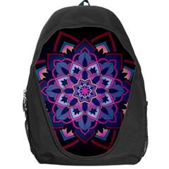 Mandala Circular Pattern Backpack Bag